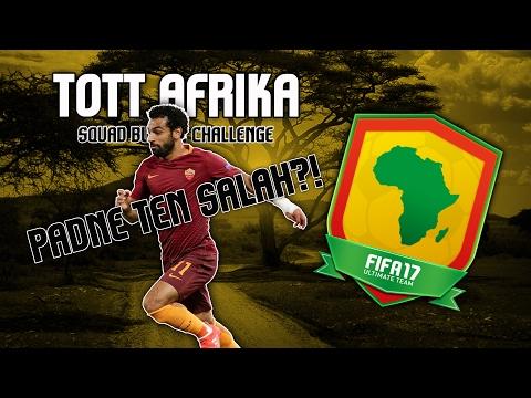 FIFA 17 | SQUAD BUILDING CHALLENGE TOTT AFRIKA | Padne ten Salah?! | CZ/SK