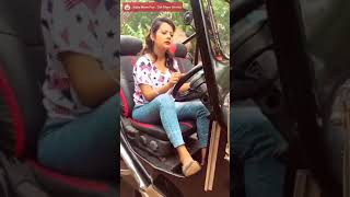 Car drive lesson of a women #car #drive #funny #fun #funnyvideo #funnycardriving #youtube.com #fun