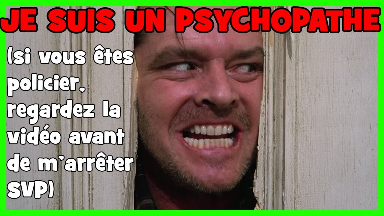 incarnons un psychopathe et tuons tout le monde calm time youtube