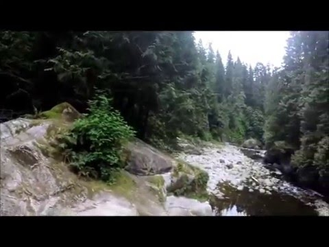 Capilano River - Cable Pool & Bridge Views