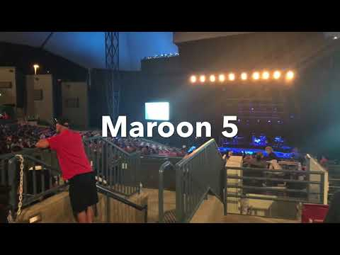 Maroon 5 Concert 2017 ( Alaska Airlines Private Event )