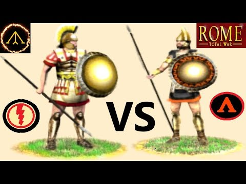 Pikemen Vs Hoplites - Which Is Best? (Rome Total War)