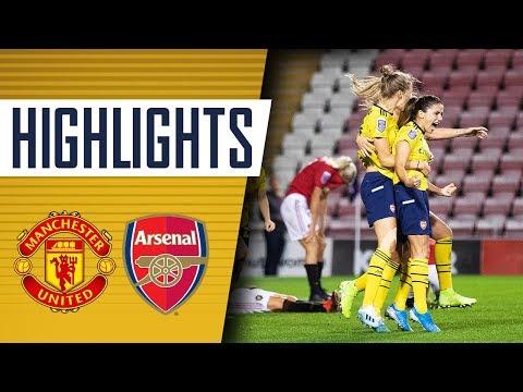 LAST MINUTE WINNER! Manchester United 0-1 Arsenal Women | Highlights