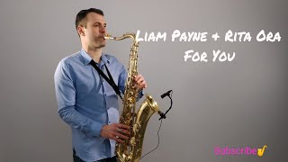 liam payne rita ora for you fifty shades freed saxophone cover by juozas kuraitis