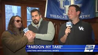 "Matt Interviews ""Pardon My Take!"" December 8th, 2017"