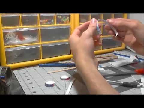 building paper model vw bug part 2
