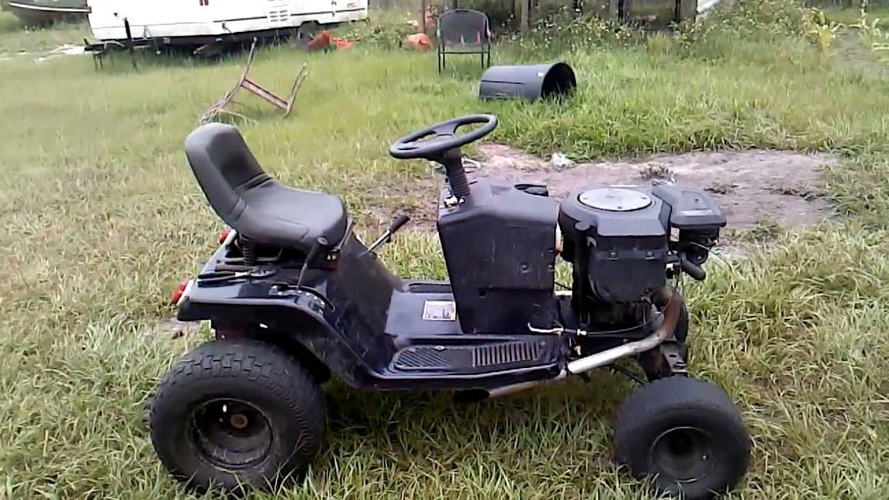 Racing Mower Axle : Racing lawn mower broke transaxle youtube
