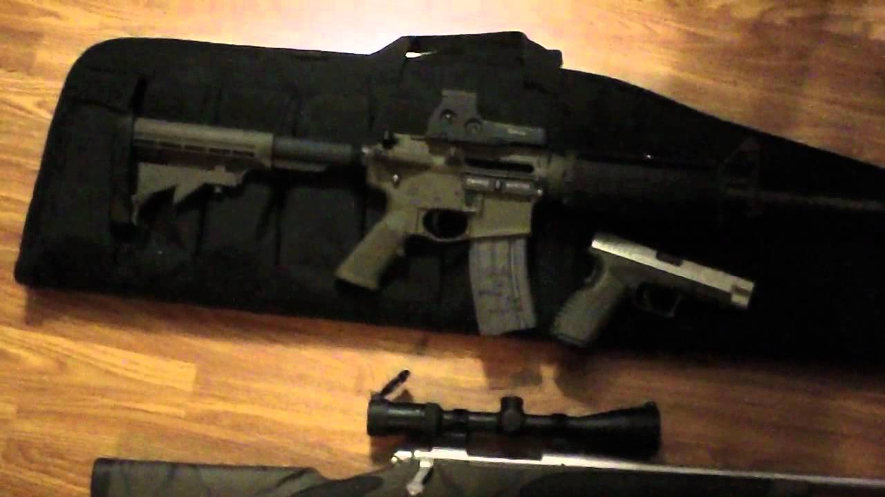 ar 15 rem700 30 06 tactical od green duracoat project youtube