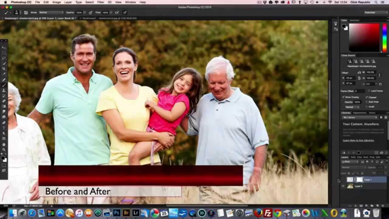 photoshop family
