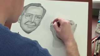 In Loving Memory Time Lapse Portrait Drawing