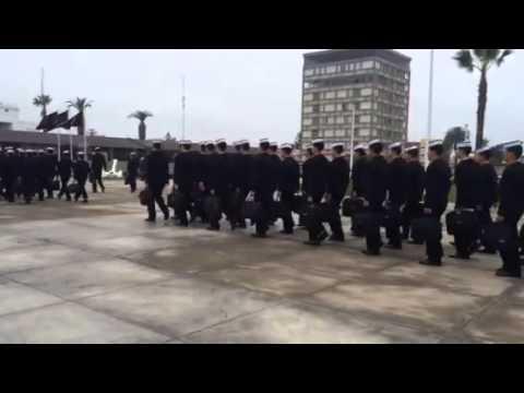 Peru Naval Academy graduation