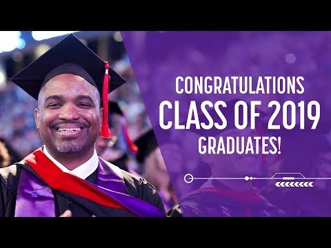 Online & Cohort Commencement Apr 26, 2019 9am