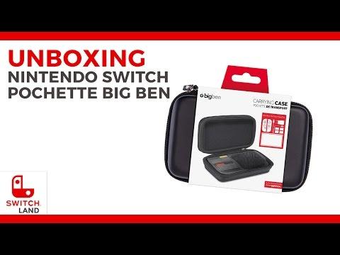 Unboxing - Pochette transport Big ben Nintendo Switch