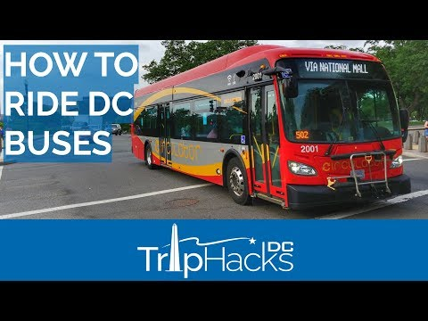 How to Ride the BUS in Washington DC