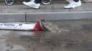 Kutno pod wodą. Strażacy mieli pełne ręce roboty
