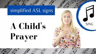 A Child S Prayer