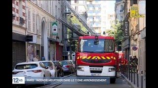 Paris : un incendie fait 3 morts et 1 blessé grave dans le 11e arrondissement