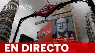 DIRECTO #4M | Acto de campaña de ÁNGEL GABILONDO en FERRAZ