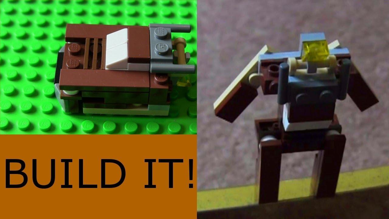 Как сделать из лего мини трансформера видео фото 494