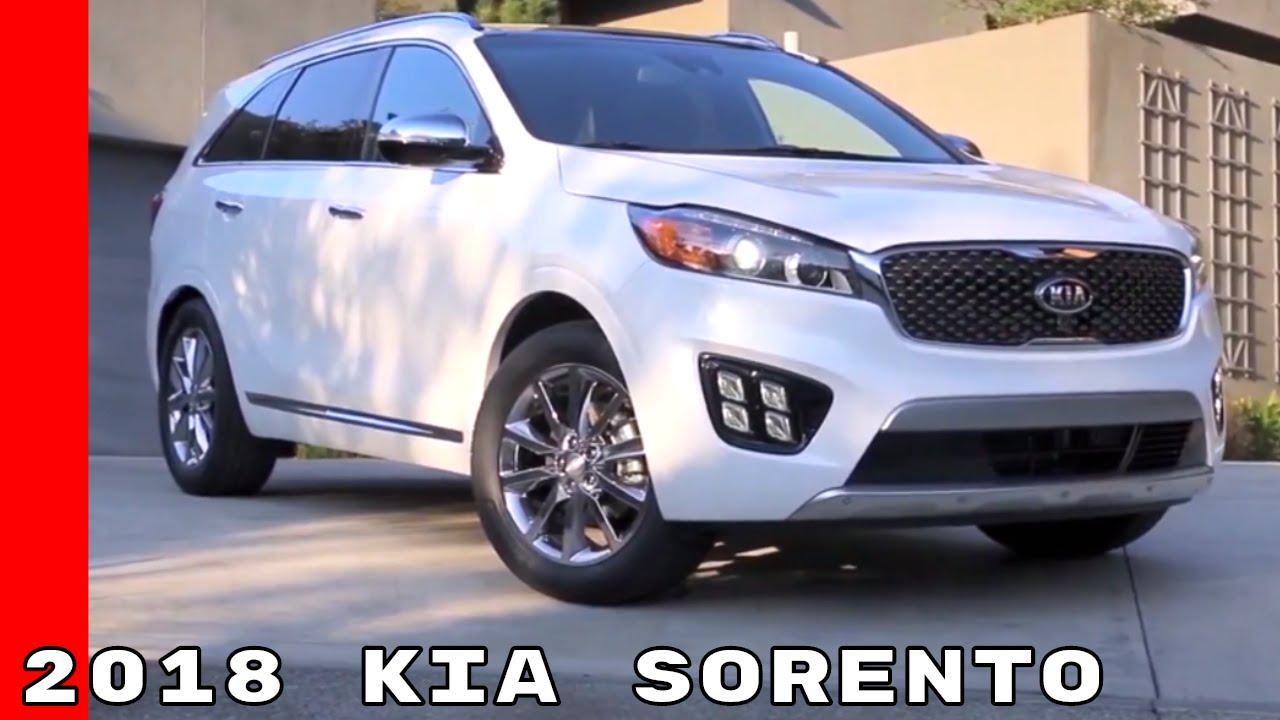2018 Kia Sorento Drive Exterior Interior Youtube
