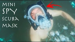 BREATHE UNDERWATER With Just a MASK?!?! - Easy James Bond SCUBA Build (Building Your Ideas #1)