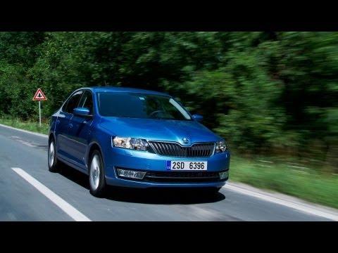 Skoda Rapid roadtest (English Subtitles)