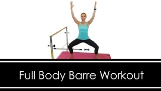 FULL BODY BARRE WORKOUT: At HOME: 30 MINUTES