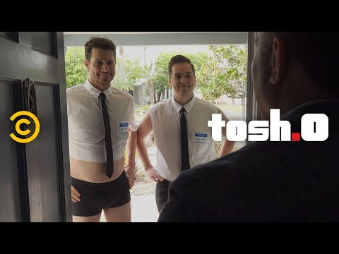 Daniel Gives The Gay BYU Valedictorian A Job - Tosh.0