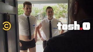 Daniel Gives the Gay BYU Valedictorian a Job - Tosh.0 thumbnail