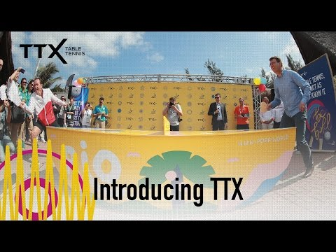 Introducing Table Tennis X (TTX)