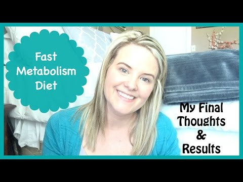 Fast Metabolism Diet    Final Thoughts & Results