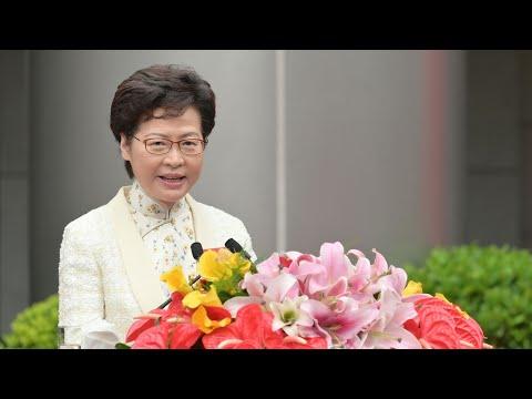 U.S. sanctions 11 Hong Kong officials, including Lam