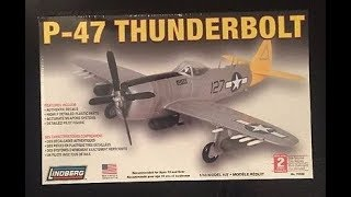 Lindberg P-47 Thunderbolt 1/48 WarHammer 40K Ork Conversion Model Kit Complete