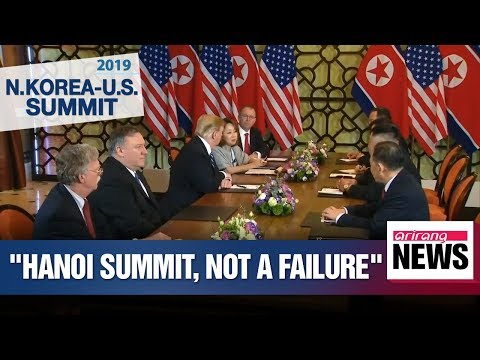 Second N. Korea-U.S. summit in Hanoi was not failure: Bolton