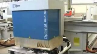 weeke bhc 280 cnc machining center