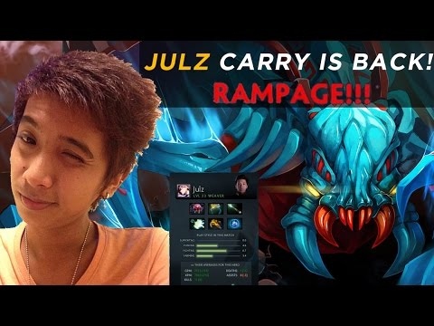 JULZ CARRY is back! - WEAVER [Rampage] - Players Perspective