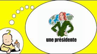 Parlo francese = Le professioni in forma femminile