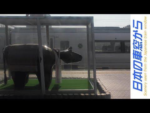 【車窓】常磐線 水戸→いわき JR Joban Line view [Mito - Iwaki]