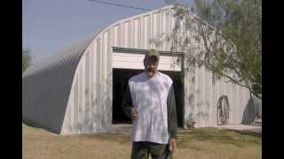 Garage Metal Building Kit Withstands Hurricane In Texas By Curvco Steel Buildings