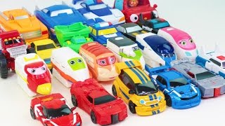 OneTouch OneStep Car&Truck Transformation TobotAthlon TransformersRID Eagles Shark Wolf Heroes