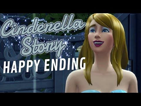 CINDERELLA STORY MOD #2 HAPPY ENDING - The Sims 4 thumbnail