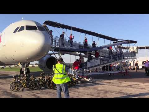 Sun 'n Fun Hosts Flight to Honor for Area Vets