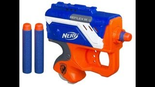 NERF Elite Reflex IX-1 Unboxing and Review