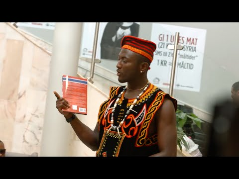 Black Norwegian (Gilbert Soba book launching Ceremony Norway-Oslo)