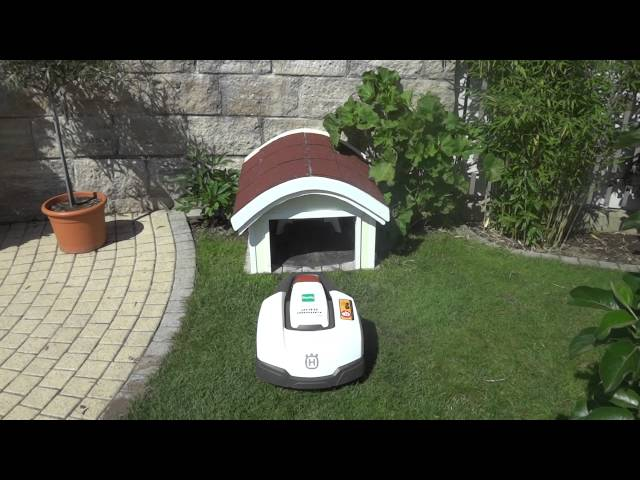 lawn mower husqvarna rasenroboter garage