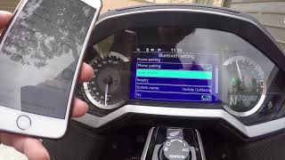 2018 honda goldwing carplay