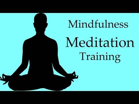 Meditation - Mindfulness Meditation Training
