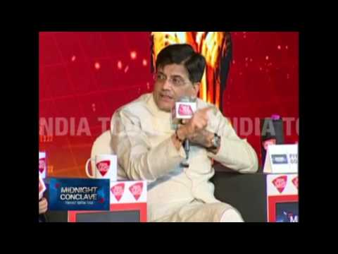 MIDNIGHT CONCLAVE GST | Piyush Goyal | 30 JUNE 2017