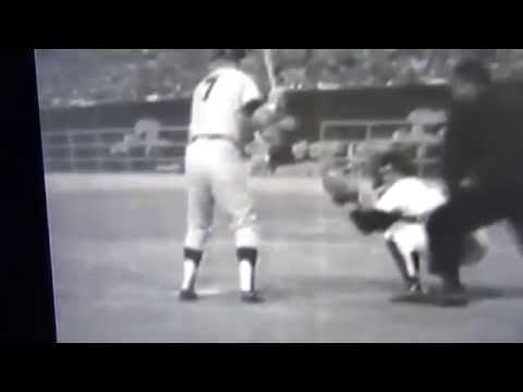 Mickey Mantle Hits 1st Home Run In Astrodome 1965