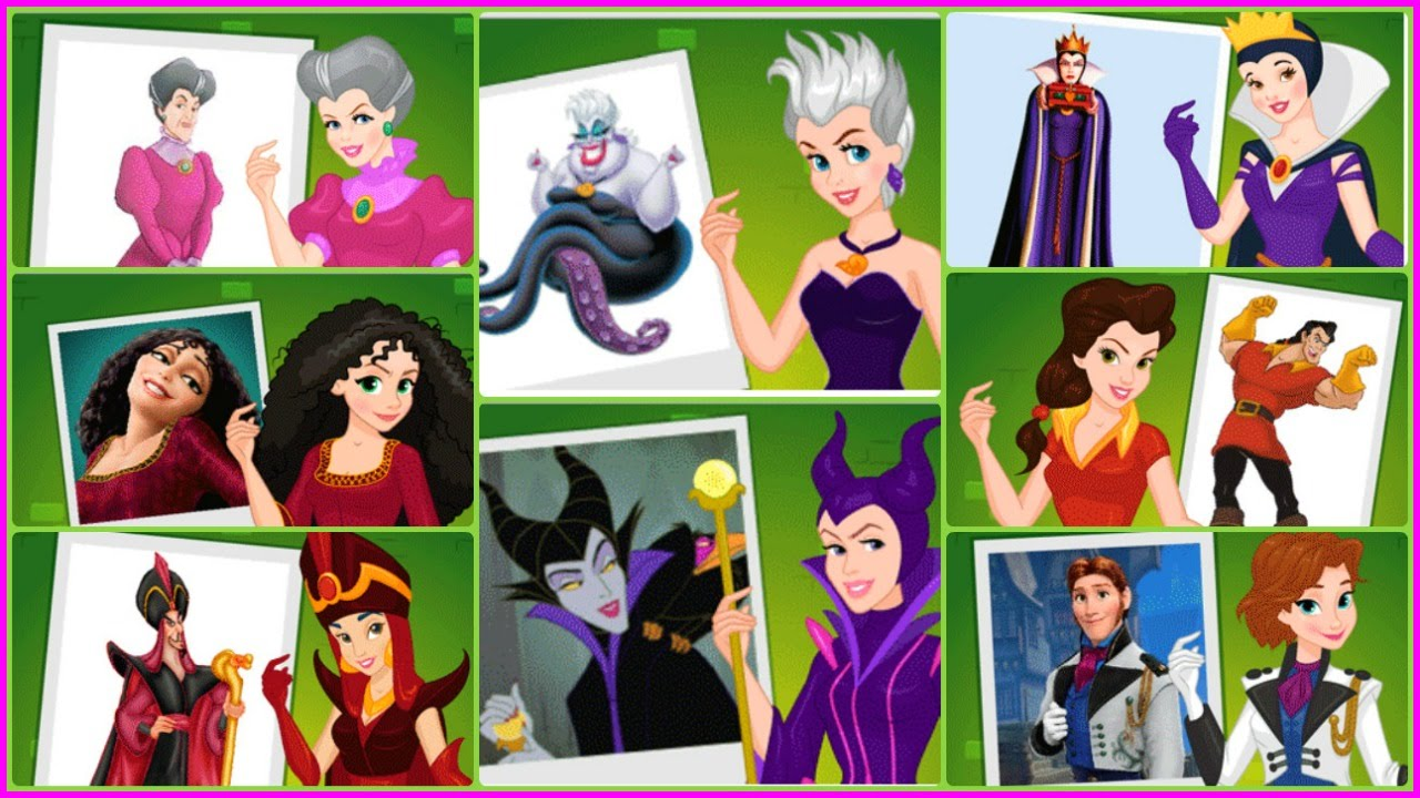 Apologise, but, disney princess as villains think, that